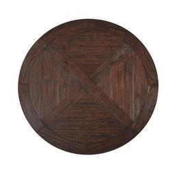 Solid Wood Round Dining Table 59 Round Farmhouse/Country Rus