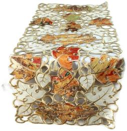Doily Boutique Table Runner, Doily, Mantel Scarf with Fall M