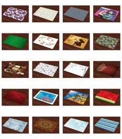 Ambesonne Washable Fabric Placemats Place Mats Set of 4 for