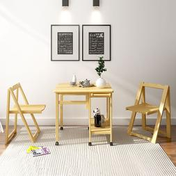 Wooden Foldable <font><b>Dining</b></font> <font><b>Table</b