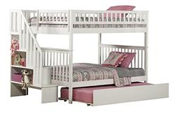 woodland staircase bunk bed